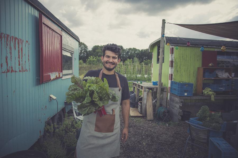 Andres Jara organic Amsterdam