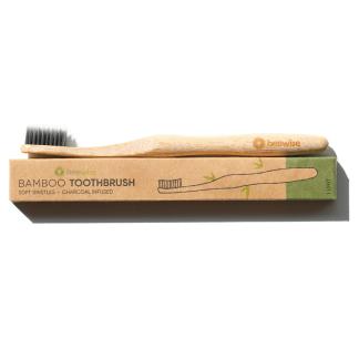 bamboo toothbrush amsterdam charcoal bristles