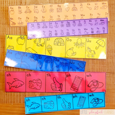 Little Learning Charts for Math & Literacy