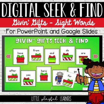 Digital Seek & Find: Givin' Gifts
