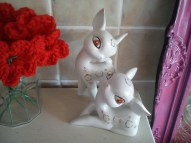 vintage reindeer! £5 the pair