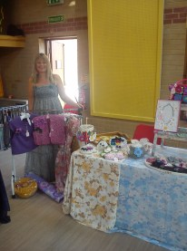 me on my stall!