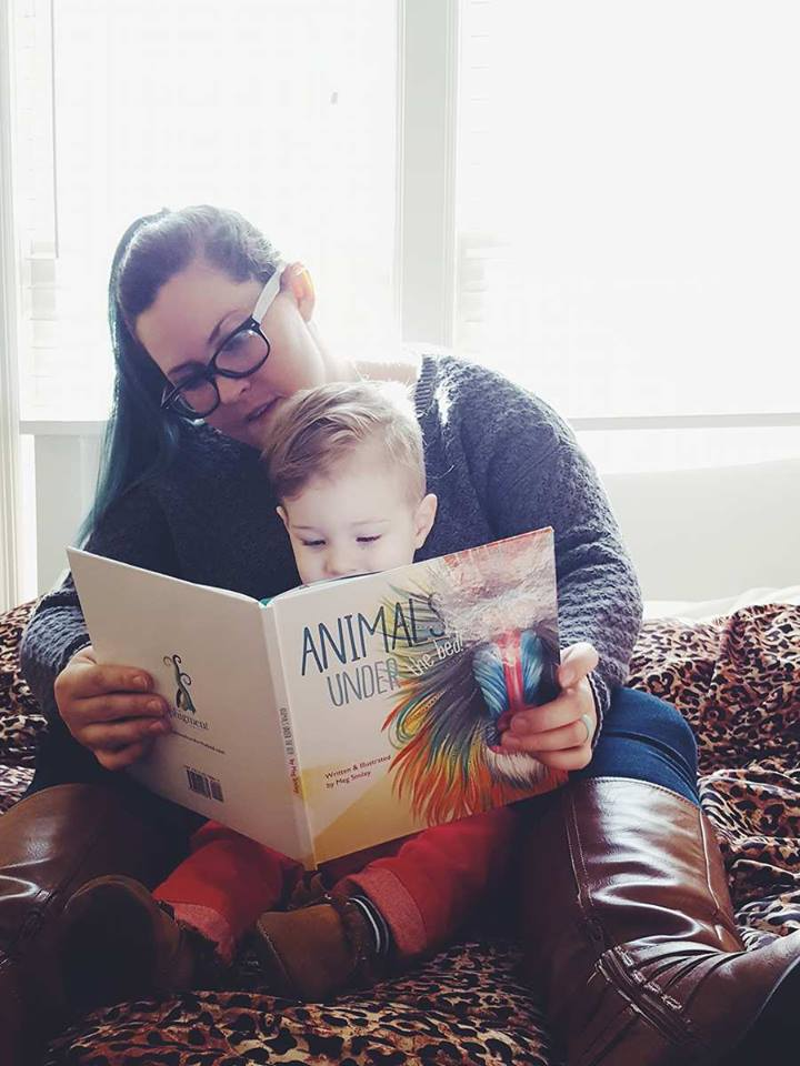 book review-animals under the bed-meg smiley-product review