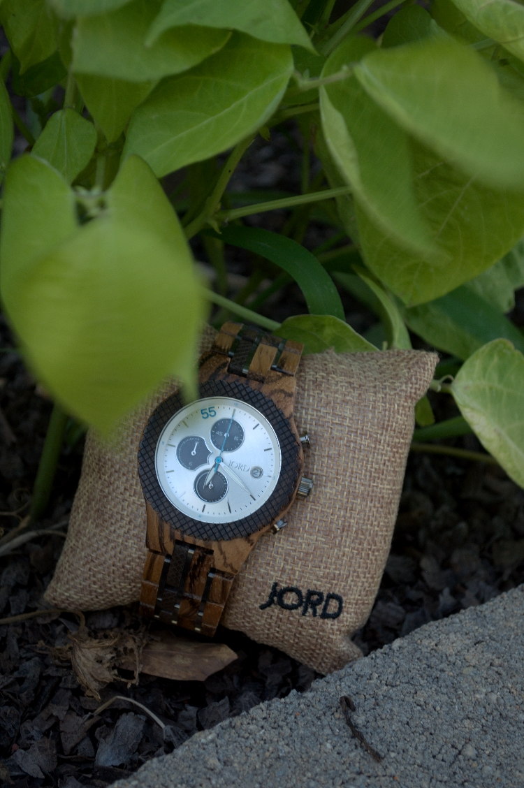 men's watch with jord