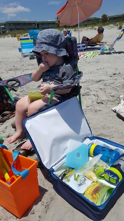 toddler snacks for the beach