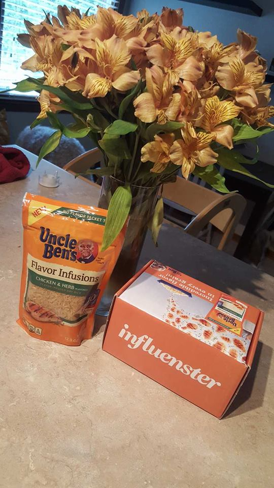 uncle bens-rice-recipe-influenster-easy meals