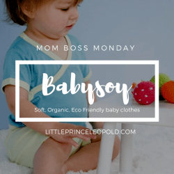Mom Boss Monday Featuring Babysoy