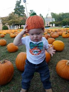 pumpkin patch baby