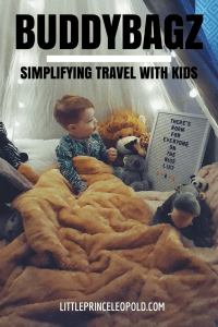 kids sleeping bags-childhood cancer-travel with toddlers