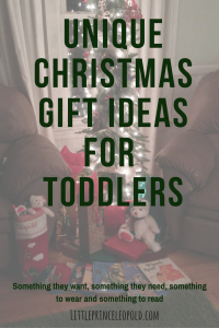 unique gift ideas for toddlers-christmas presents-gift inspiration