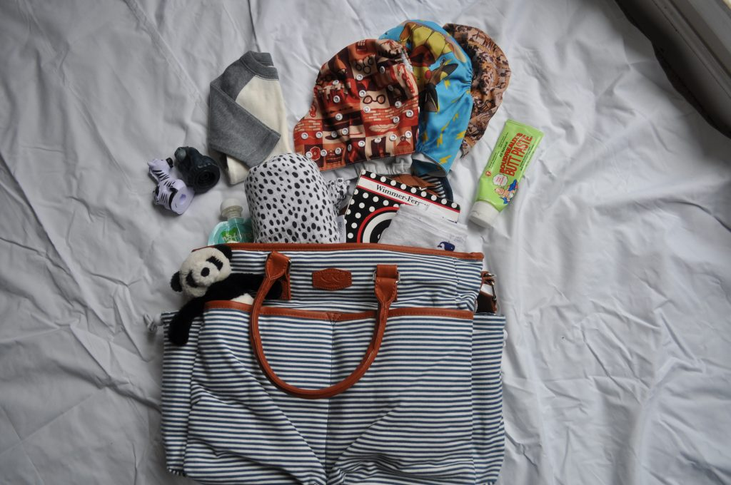 baby diaper bags-cloth diaper bag- fluff bum mamas-infant necessities