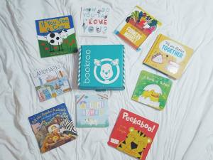 bookroo subscription box-toddler books-board books-baby books-childrens books-reading-book review