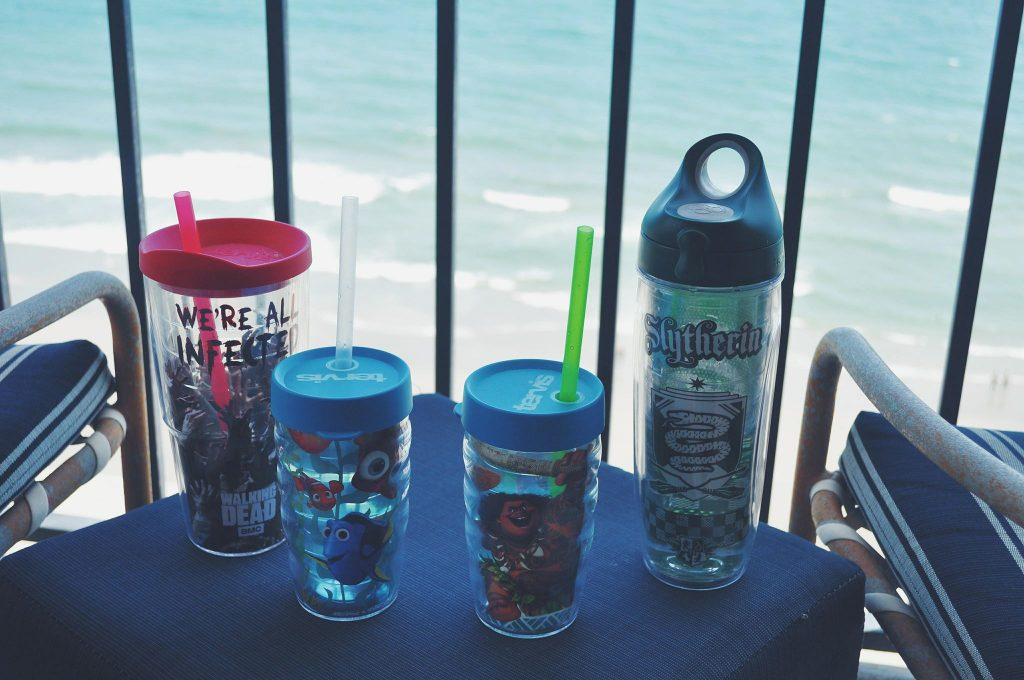 tervis tumblers-beach trip-memorial day-best cups-summertime