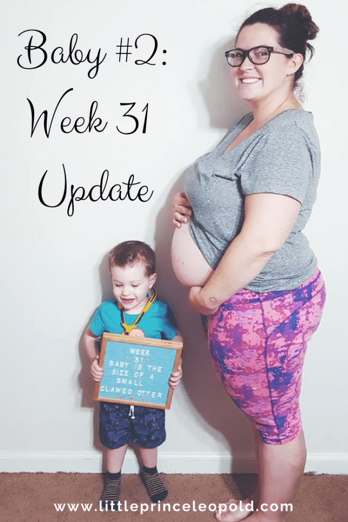 baby number two week 31