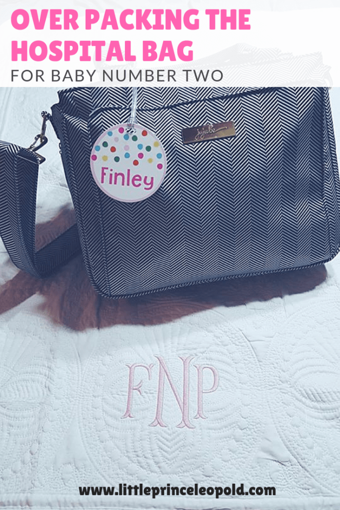 packing the hosptial bag-baby number two-second baby-