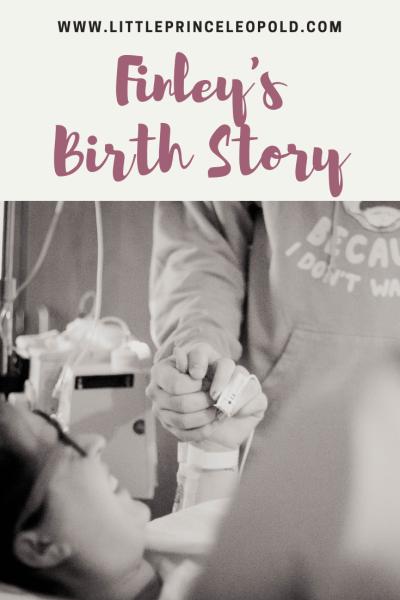 finley's birth story-epidural-hospital birth-newborn-pregnancy-labor