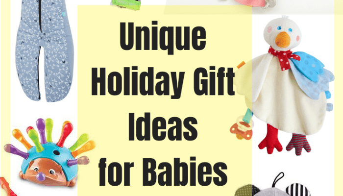 Unique Holiday Gift Ideas for Babies
