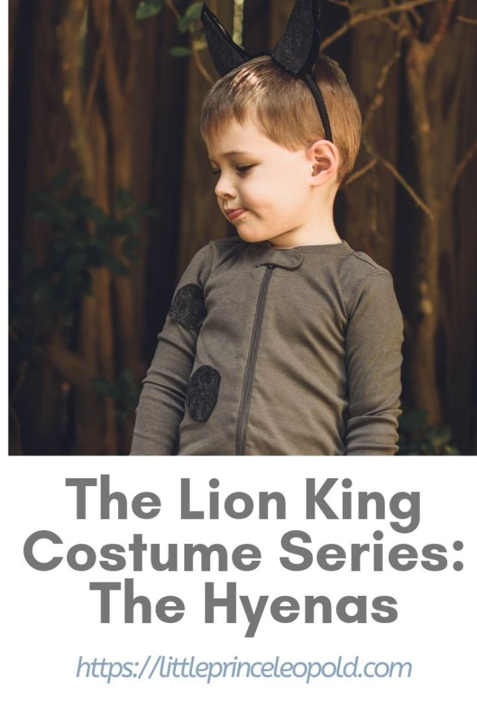 hyena costume lion king diy