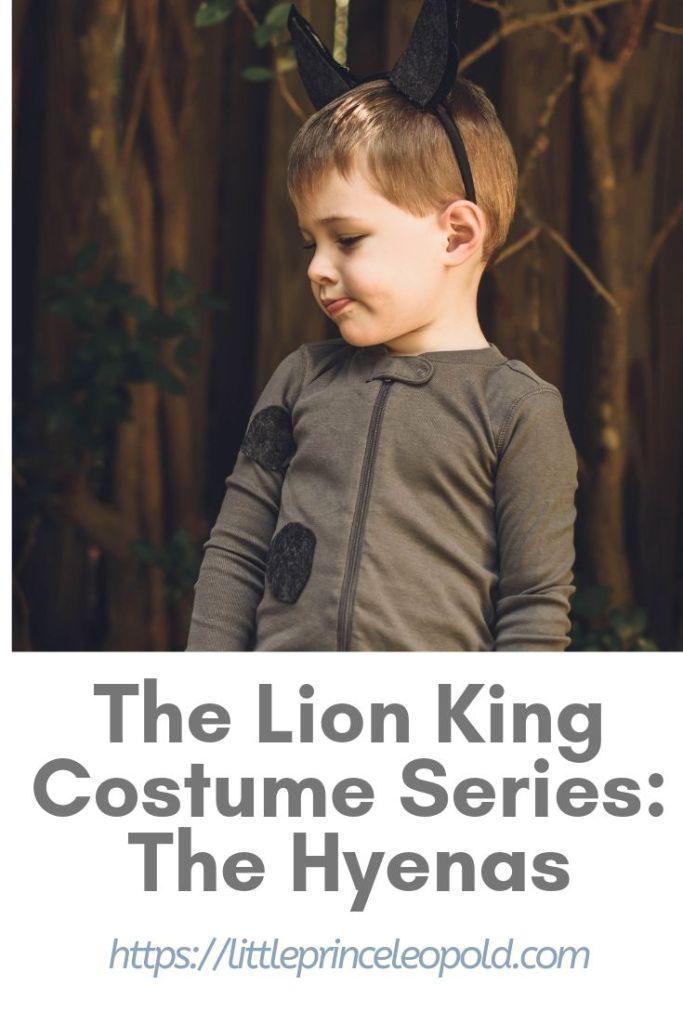 hyena costume lion king diy