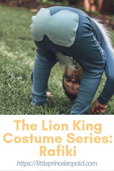 the lion king halloween rafiki costume kids