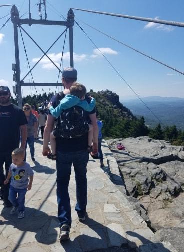 grandfather mountain north carolina blue ridge parkway