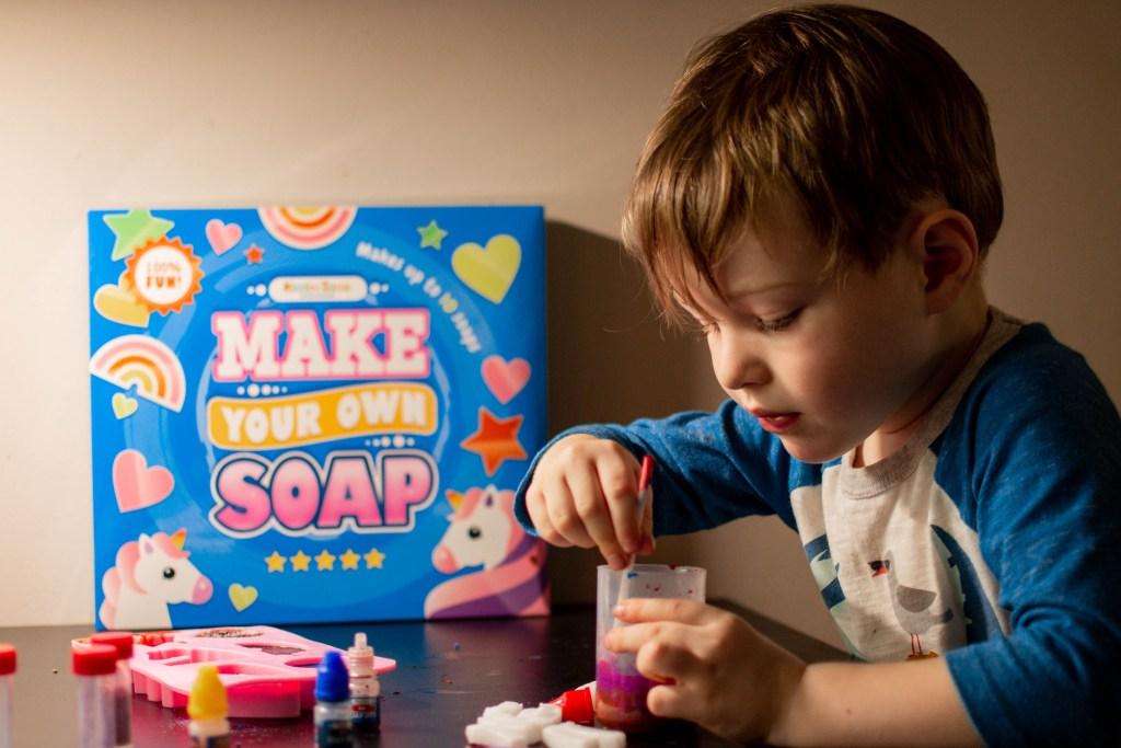 Make your own soap kit amazon diy