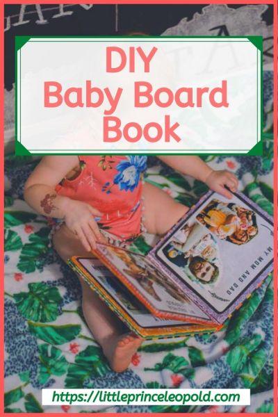 baby board book diy