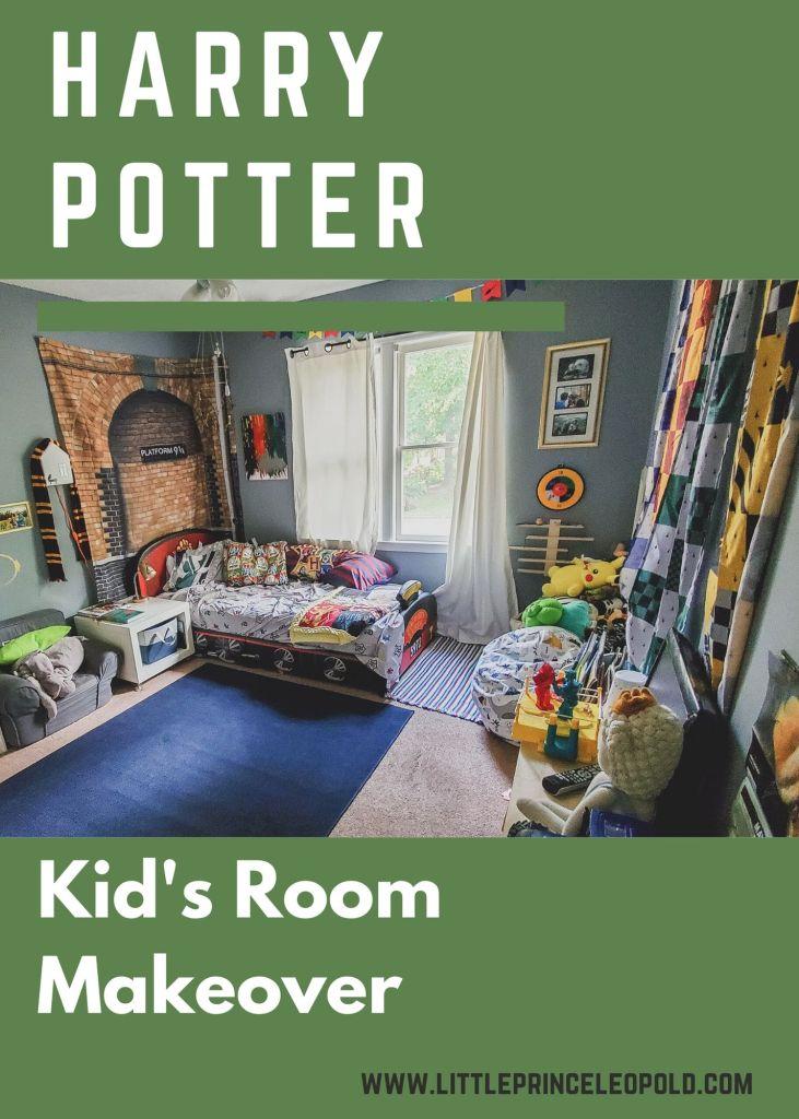 Harry Potter Bedroom Makeover Little Prince Leopold