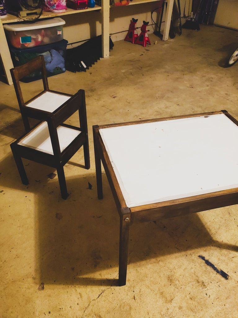 play room table- art table- kids room-