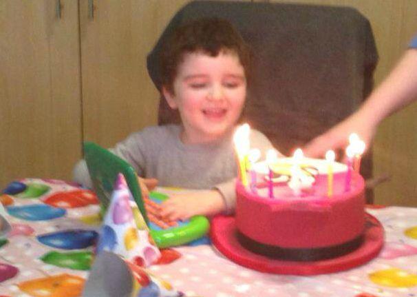 Conor on his birthday.x