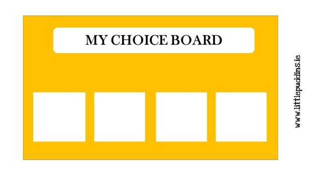 My Choice Board