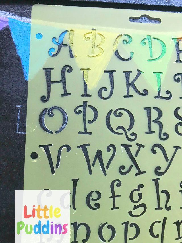 Chalkboard Art Display