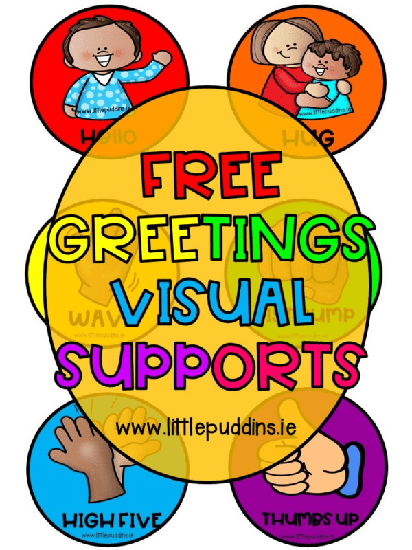 Greetings FREE Printable