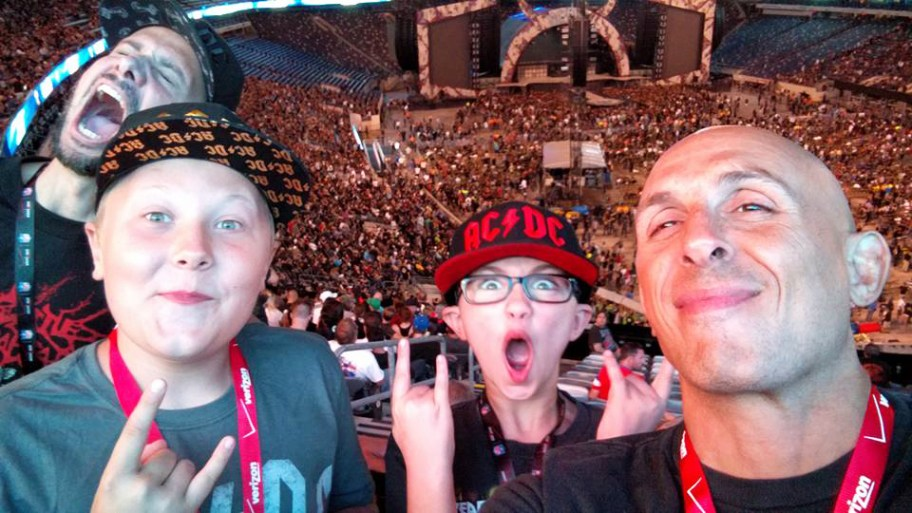 ACDC with dave ellliott and gavin