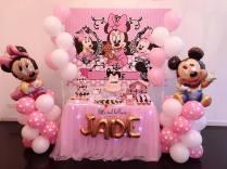 Baby Minnie Dessert Table