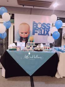 Boss Baby Dessert Table