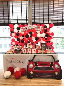 Mini Cooper Dessert Table Theme