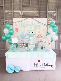 owl-theme-dessert-table