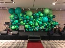 Organic Balloon Decor Backdrop
