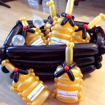 moet-and-chandon-champagne-balloon-sculpture