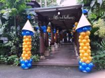 royal-prince-balloon-columns