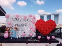 wedding-proposal-balloon-backdrop-and-heart-balloon