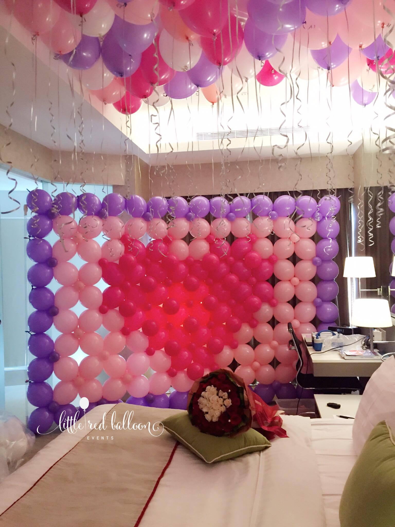 Wedding Balloon Decoration Singapore  Little Red Balloon Singapore