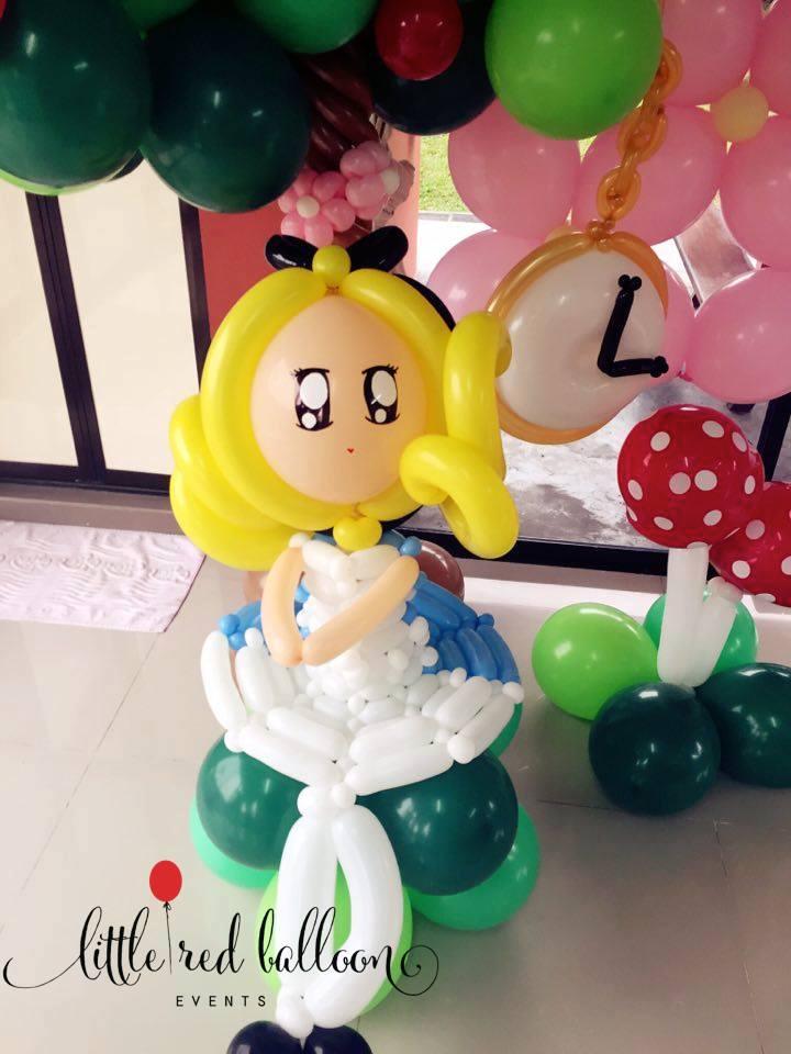 Little Red Balloon – Alice In Wonderland – Little Red
