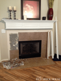 Replacing Tile Around Fireplace