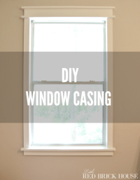 DIY Window Casing | Add character to your windows!
