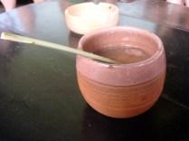 Canchanchara. Made from honey, water, lemon, ice & Cuban rum.