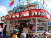 Carnival food - deep fried everything!