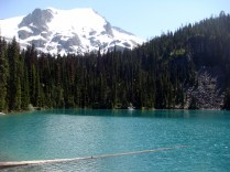 Joffre Lakes - Second Lake, BC, Canada.