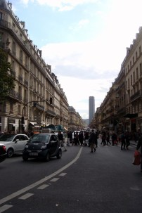 A random street in Paris with Montparnasse Tower in the background. Didn't get a chance to go up, but then again, I didn't feel that it was worth the 10 euro admission price.